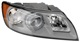 Headlight right Xenon D2S  (gas discharge tube) 31335240 (1016108) - Volvo V50