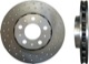 Brake disc Front axle perforated/ internally vented Sport Brake disc Formula Z 31471830 (1016133) - Volvo S60 (-2009), S80 (-2006), V70 P26, XC70 (2001-2007)