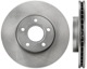 Brake disc Front axle internally vented 31362411 (1016642) - Volvo C30, C70 (2006-), S40 V50 (2004-)