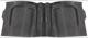 1017879 Floor rubber mat Rubber black Rear seat