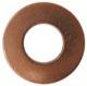 Seal ring, Oil drain plug 30735089 (1018057) - Volvo C30, S40 V50 (2004-), S60 (2011-2018), S80 (2007-), V40 (2013-), V40 XC, V60 (2011-2018), V70 (2008-)