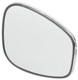 Mirror glass, Outside mirror fits left and right 1213608 (1018264) - Volvo 120 130 220, 140, 164, P1800, P1800ES, PV