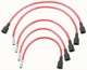 Ignition cable kit red 275652 (1018626) - Volvo 120 130, PV