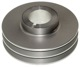 Belt pulley, Crankshaft anodized  (1018958) - Volvo 200, 700, 900