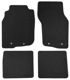 Floor accessory mats Velours black-grey  (1019104) - Volvo S40 V40 (-2004)