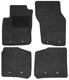Floor accessory mats Needle felt black-grey  (1019105) - Volvo S40 V40 (-2004)
