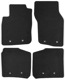 Floor accessory mats Velours black-grey  (1019106) - Volvo S40 V40 (-2004)