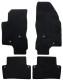 Floor accessory mats Velours black-grey  (1019109) - Volvo V70 P26, XC70 (2001-2007)