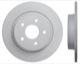 Bremsscheibe Hinterachse massiv 31499632 (1019197) - Volvo C30, C70 (2006-), S40 V50 (2004-)