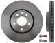 Brake disc Front axle 31341382 (1019625) - Volvo S60 (2011-), S80 (2007-), V60, V70 XC70 (2008-)