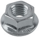 Nut with Collar with metric Thread M10 Zinc-coated  (1019725) - universal