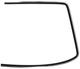 Zierleiste, Verglasung Frontscheibe links 1372077 (1021168) - Volvo 200