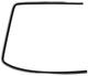 Zierleiste, Verglasung Frontscheibe rechts 1372078 (1021169) - Volvo 200