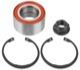 Wheel bearing Front axle fits left and right 4689923 (1021248) - Saab 9-3 (-2003), 9-5 (-2010), 900 (1994-)