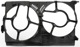 Housing, Radiator fan 24410993 (1021259) - Saab 9-3 (2003-)