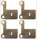 Shims, Brake pads Kit for both sides 272272 (1021460) - Volvo 850, C70 (-2005), S70 V70 (-2000)