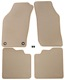Floor accessory mats Velours beige  (1022516) - Saab 900 (-1993)