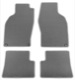 1022522 Fußmattensatz Velours grau