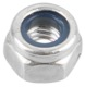 Lock nut with plastic-insert with metric Thread M4 Zinc-coated  (1022531) - universal