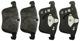 1023256 Brake pad set Front axle