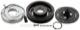 Magnetic clutch, Air conditioner compressor 30665346 (1023414) - Volvo C70 (-2005), S70 V70 (-2000), V70 XC (-2000)
