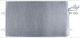 Condenser, Air conditioner 31418512 (1023805) - Volvo C30, C70 (2006-), S40 (2004-), V50