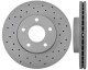 Brake disc Front axle perforated/ internally vented Sport Brake disc  (1023976) - Volvo C30, C70 (2006-), S40 V50 (2004-)