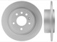 Brake disc Rear axle non vented 12763591 (1025025) - Saab 9-5 (-2010)