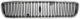 Kühlergitter ohne Strebe ohne Emblem 8678680 (1025286) - Volvo V50