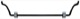 Stabilizer Front axle 24 mm 9461483 (1025614) - Volvo S60 (-2009), S80 (-2006), V70 P26, XC70 (2001-2007)