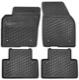 Floor accessory mats Rubber black (offblack) 39807167 (1026110) - Volvo S40 V50 (2004-)