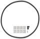 Dichtung, Hauptscheinwerfer Reparatursatz mit Halter, Scheinwerfereinstellung 30621936 (1026269) - Volvo S40 V40 (-2004)