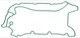 Seal, Crankcase breather 30757223 (1026765) - Volvo S60 V60 (2011-2018), S80 (2007-), V70 XC70 (2008-), XC60 (-2017)