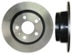Brake disc Rear axle non vented  (1027095) - Volvo 900