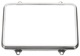 Rahmen, Hauptscheinwerfer vorne rechteckig 1235151 (1027443) - Volvo 200, 700