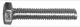 Screw/ Bolt Outer hexagon M6 100 Pcs  (1027518) - universal