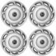 Wheel cover silver 14 Inch for Steel rims Kit 272465 (1027616) - Volvo 200, S40 V40 (-2004)