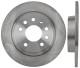 Brake disc Rear axle non vented 12762290 (1028651) - Saab 9-3 (2003-)