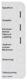 Hinweisschild Sicherungskasten 658545 (1029327) - Volvo 120 130, PV