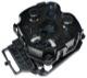 Motor, Outside mirror left 30634225 (1031080) - Volvo C70 (2006-), S40 V50 (2004-), S60 (-2009), S80 (-2006), V70 P26, XC70 (2001-2007)