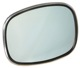 Mirror glass, Outside mirror 1203646 (1031275) - Volvo 140, 164, 200