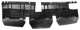 Air guide Nosepanel front lower 3540872 (1031562) - Volvo 200