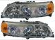 Hauptscheinwerfer mit Blinklicht mit Tagfahrlicht Satz für beide Seiten  (1031739) - Volvo V70 P26, XC70 (2001-2007)