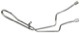 Druckleitung, Lenkung 5058722 (1033466) - Saab 9-5 (-2010)
