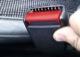 Button, Lock Safety belt