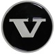 Wheel Center Cap black for Steel rims 1272790 (1034488) - Volvo 200, 700
