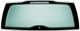 Rear window 30674387 (1034615) - Volvo V70 P26, XC70 (2001-2007)