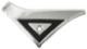 Trim moulding, Sidewall C-pillar right upper 1203109 (1035482) - Volvo 140, 164, 200
