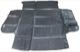 Trunk mat Vinyl anthracite 8641722 (1036489) - Volvo V70 P26, XC70 (2001-2007)