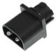 Bulb holder, Indicator  (1036951) - Volvo 200, 300, 400, 700, 850, 900, C70 (-2005), S40 V40 (-2004), S70 V70 (-2000), S80 (-2006), S90 V90 (-1998), V70 XC (-2000)